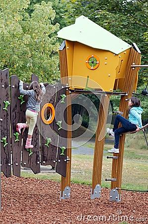 Children at playground