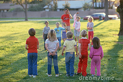 Children playing Editorial Stock Image