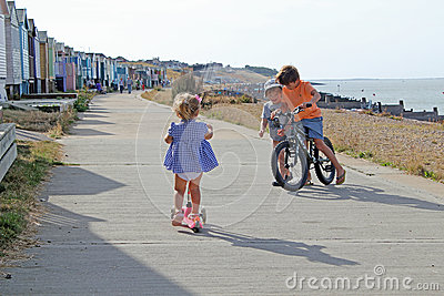 Children Playing Editorial Stock Photo