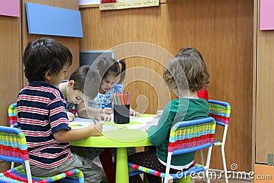 Children preschool to kindergarten Editorial Photo