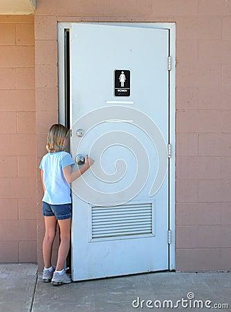 Children:  Public Toilet