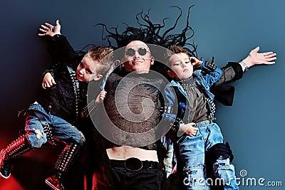 Children rock