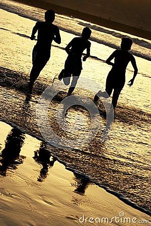 Free Children Running Royalty Free Stock Image - 1344966