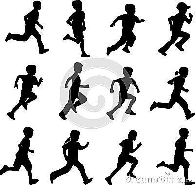 Free Children Running Stock Photos - 14303653