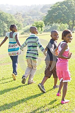 Children Running Stock Photos Image 7581523