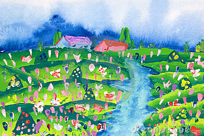 Children s Art - Farm