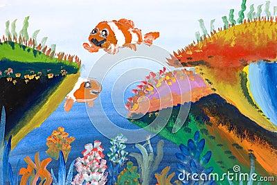 Children s Art - Marine Life
