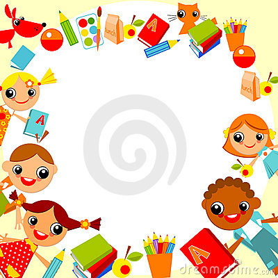 Childrens Background Royalty Free Stock Image