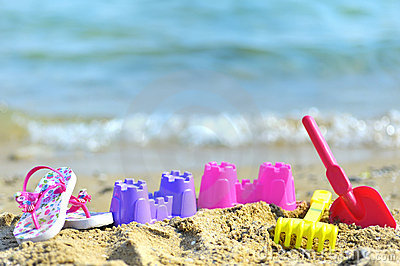 Children s beach toys