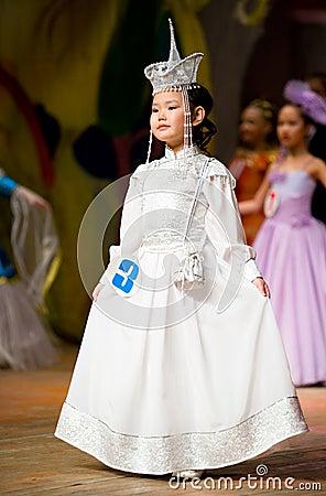Children s beauty contest Editorial Photo