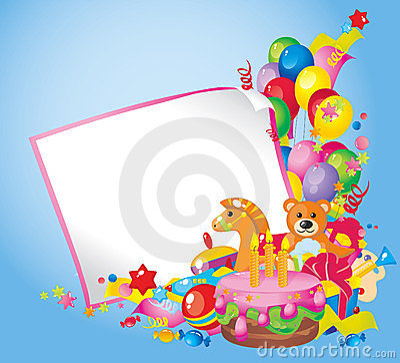 Free Children S Birthday Royalty Free Stock Photo - 23568135