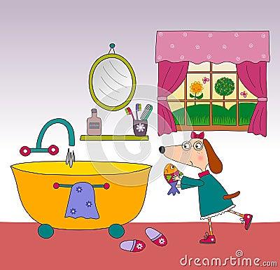 Children s book page