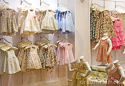 Children s Clothing Shop