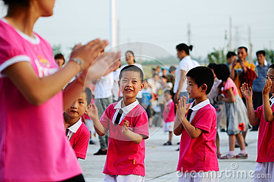 Children s Day party Editorial Stock Photo
