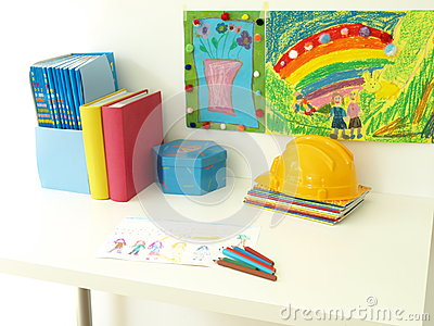 Children s desk