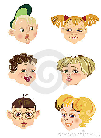 Children s faces
