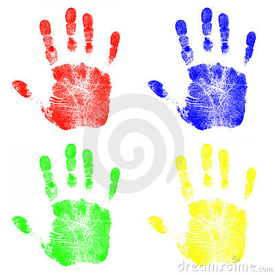 Children s Hand Prints