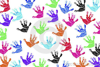 Children s Handprints