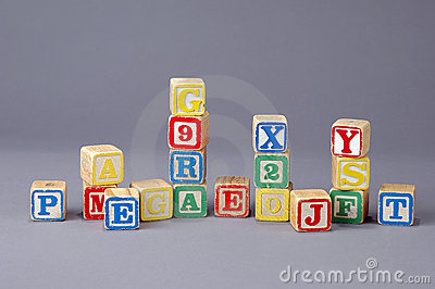 Children s Letter Blocks