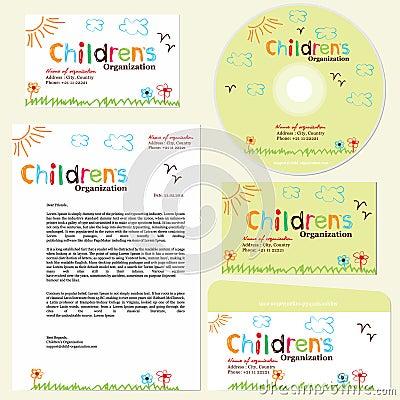 Children s organization template