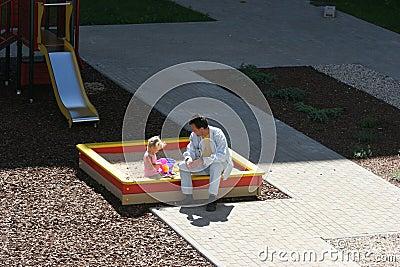 At the children s playground