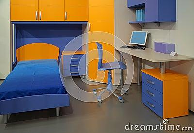 Children s room with computer