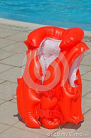 Children s swimming waistcoat