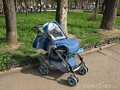 Children s walking carriage.