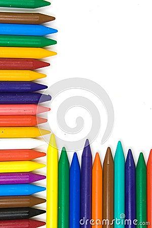 Children s wax pencils