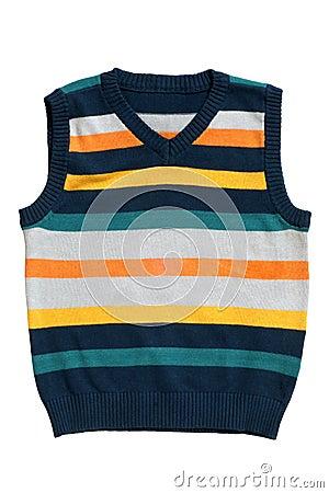Children s wear - sleeveless pullover