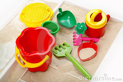 Children sandbox