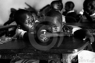 Children at school in Malindi, Kenya,african eyes Editorial Image