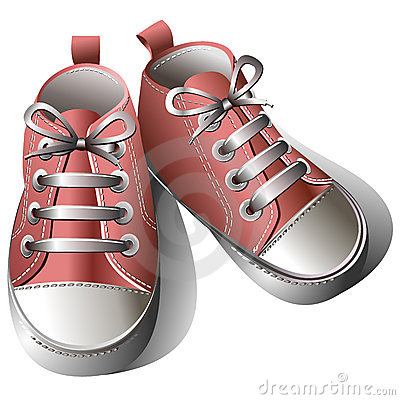 Free Children Shoes Royalty Free Stock Photos - 18576068