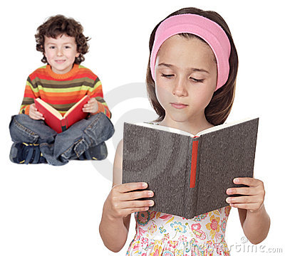 Children students