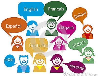 Children talk in very much Country language