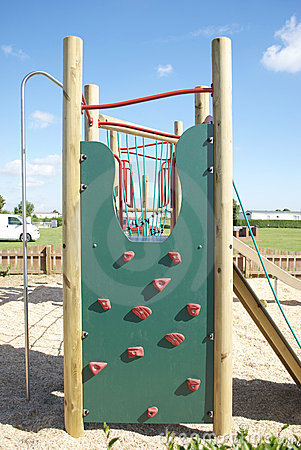 Childrens Adventure Playground Wall Climb