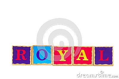 Childrens play blocks