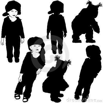 Childrens Silhouettes 07
