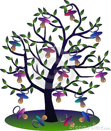Childrens teat tree