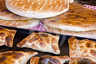 Chilean Empanadas and Tortillas Horizontal