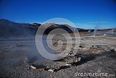 Chilean geysers
