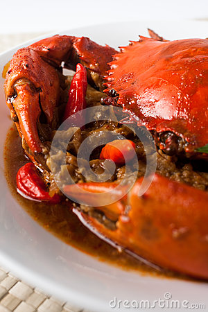 Chili crab royalty free stock image image 29302526 for 7 spices asian cuisine