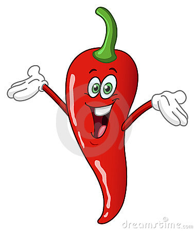 Free Chili Pepper Cartoon Royalty Free Stock Images - 21158249