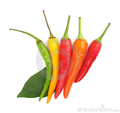 Free Chili Peppers Paprika Royalty Free Stock Image - 10776586