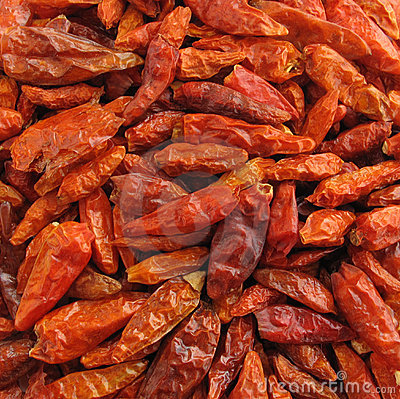 Free Chili Peppers Paprika Dried Royalty Free Stock Photos - 10410238