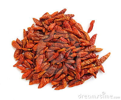 Chili peppers paprika dried