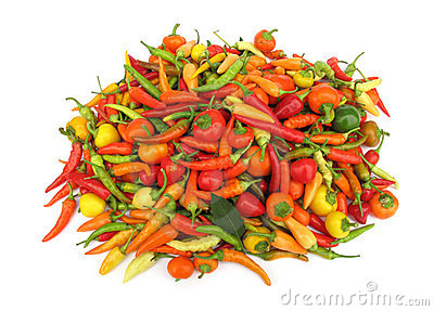 Chili Peppers Paprika In Red Dish Royalty Free Stock Photo - Image: 10776525
