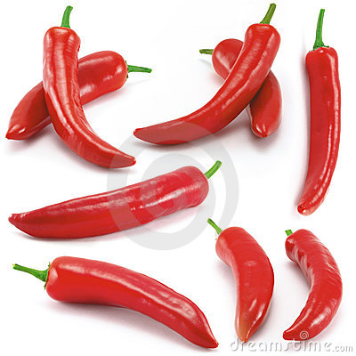 Free Chili Peppers Peperoni Stock Image - 4335021