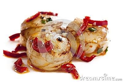 Chili Scallops