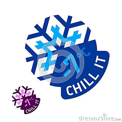 «Chill it» emblem